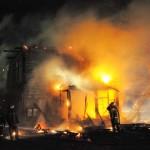 Пожар в Одинцово-1