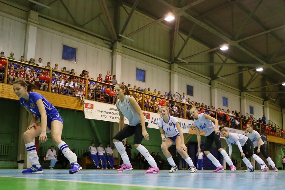 Волейболистки «Заречья-Одинцово» провели мастер-класс