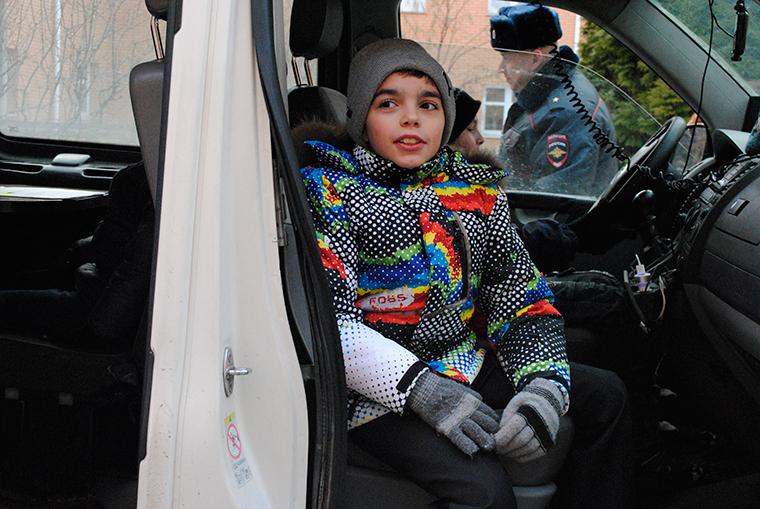 ГИБДД Одинцовского района поздравила воспитанников детского дома Благо в Одинцово