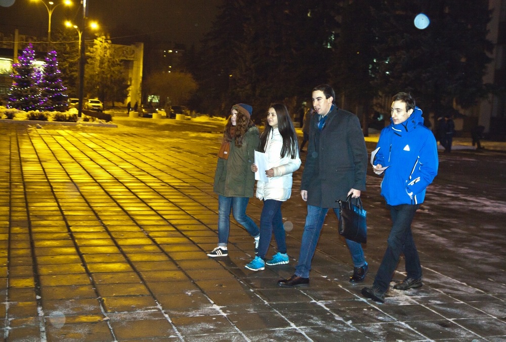 Молодежный парламент Одинцовского района - Ночной дозор