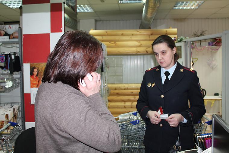 Полиция проверила торговые точки