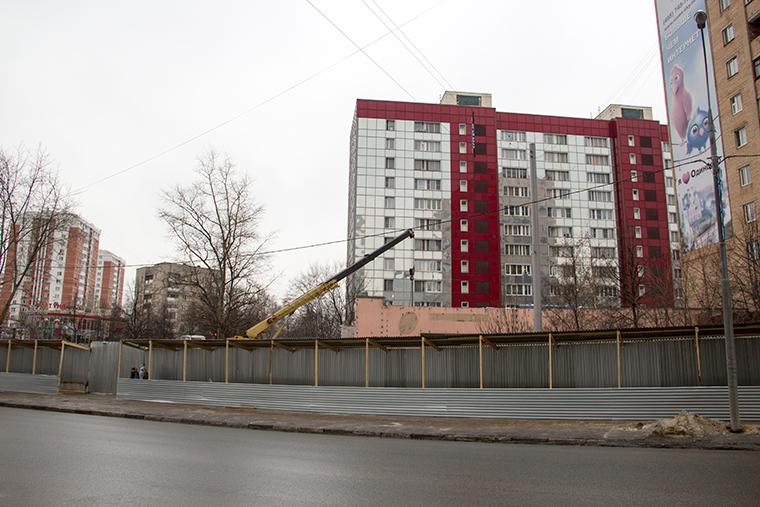 Торговый центр на улиц Чикина в Одинцово