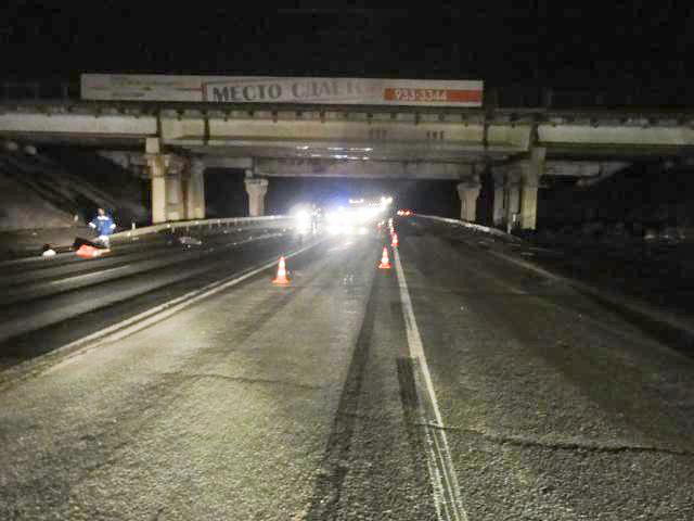 ДТП на Можайском шоссе
