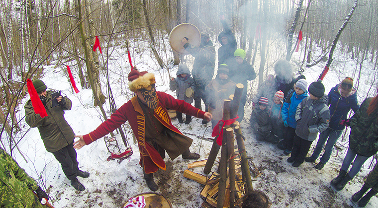 Масленица в Подушкинском лесу