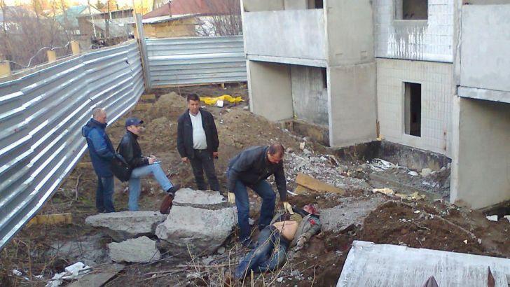 Рабочие на стройплощадке