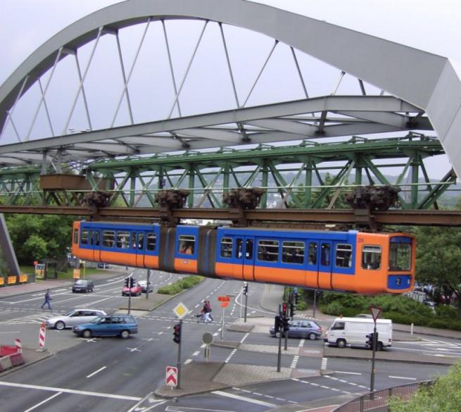 Подвесное метро