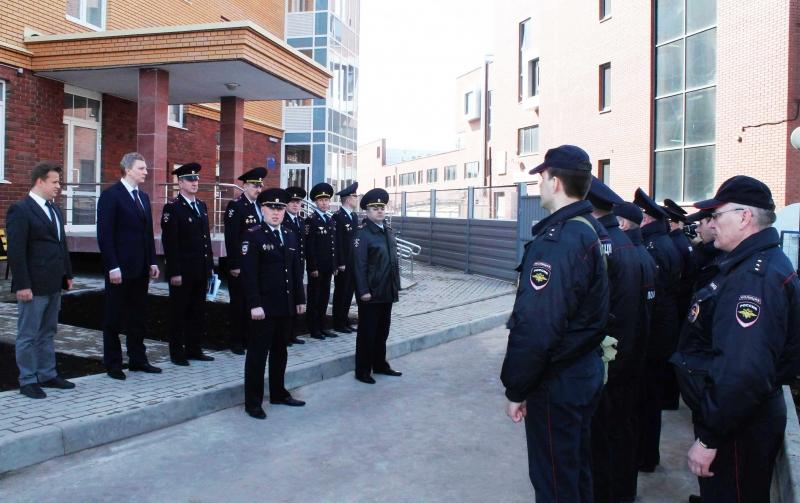 Открытие отдела полиции в Заречье