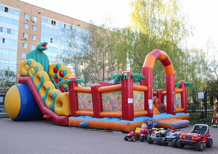 Парк аттракционов Одинцово