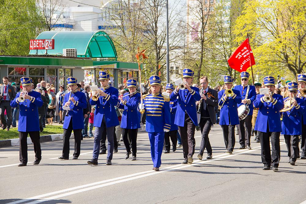 Парад Победы в Одинцово
