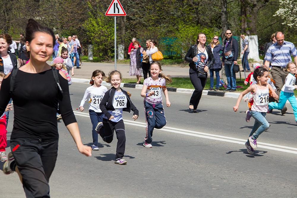 Эстафета 9 мая в Одинцово