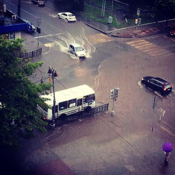 Потоп в Курске