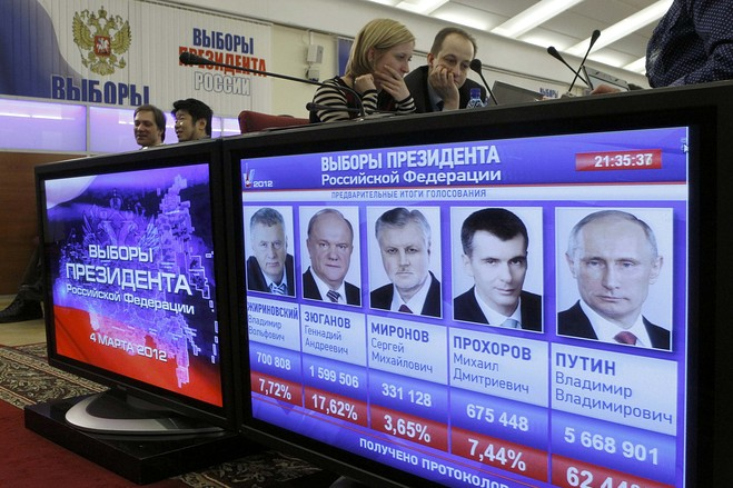 Когда будут следующие выборы президента россии