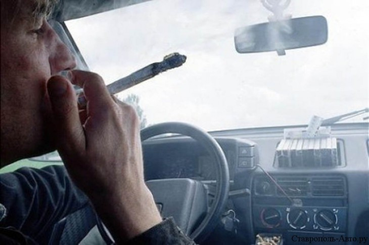 Наркоман за рулем