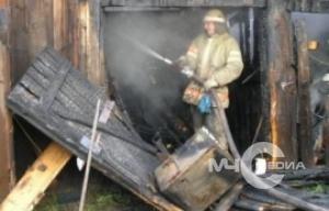 Пожар в Немчиновке