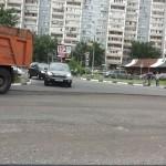 Асфальта на Можайском шоссе в Одинцово хватило на 3 года