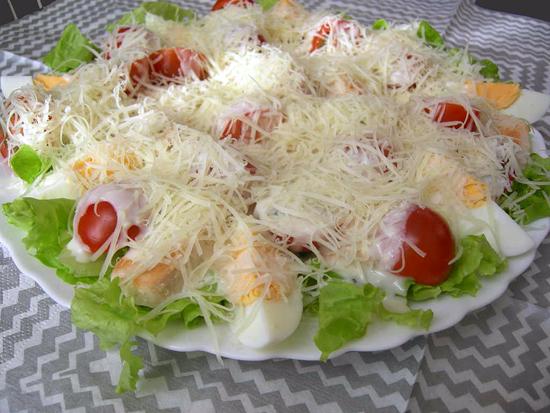 рецепт салатов с фото пошагово
