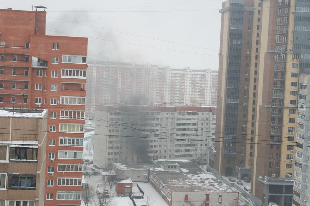 Улица Крылова, Одинцово, автомобиль