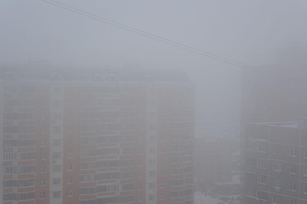 Туман, Одинцово, утро