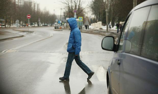 Водители, пешеходы, Одинцово