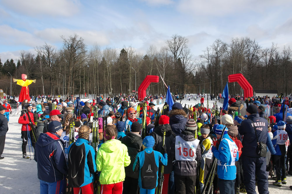 Проводы Зимы, закрытие лыжного сезона 2016, Одинцово