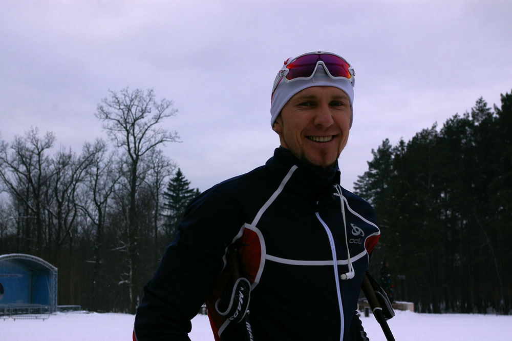 Одинцово, биатлон, Тимофей Лапшин