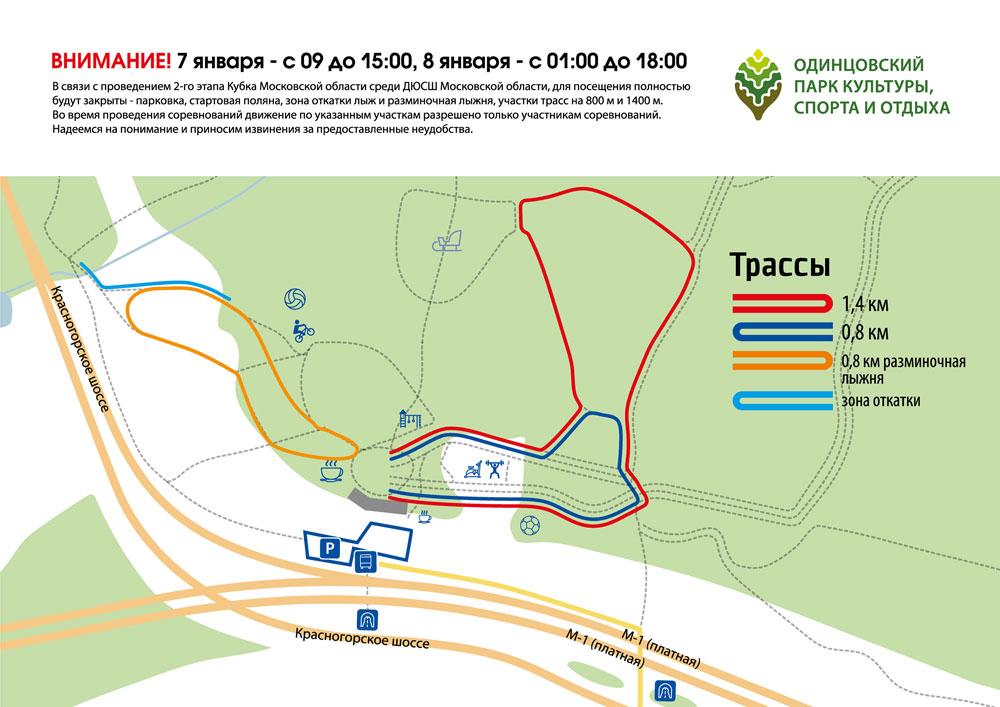 Рождественская лыжная гонка в Одинцово на призы Ларисы Лазутиной